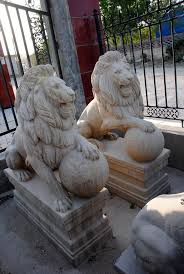 lion statues for sale marble lion statues marble statuary carved animal