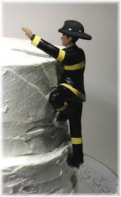 fireman wedding cake topper firefighter exles of personalized cake tops