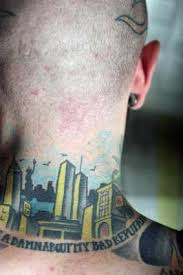neck tattoos lovetoknow