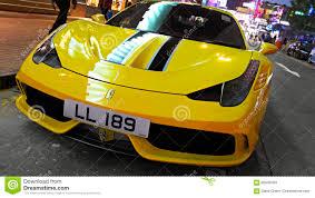 car ferrari 458 sports car ferrari 458 spider editorial stock image image 66505584
