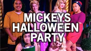 halloween party fun mickey u0027s halloween party disneyland 2016 youtube