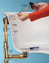 How To Unclog A Bathtub Drain Full Of Hair A Diagram On How To Unplug A Bathroom Drain Plumbing