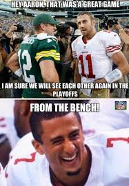 Packers 49ers Meme - nfl memes on twitter packers and 49ers meet again http t co