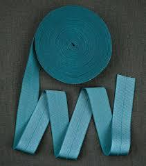 ribbon elastic alabama chanin 1 fold elastic ribbon in denim confident stitch