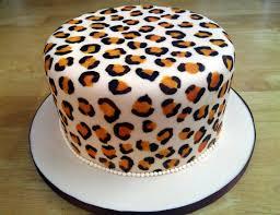 leopard print birthday cake with leopard print sponge susie u0027s