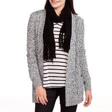 sweater walmart faded s 2 pocket cardigan sweater walmart com