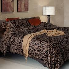 Leopard Print Curtains And Bedding Bedding Outstanding Leopard Print Bedding 100 Sateen Cotton Font