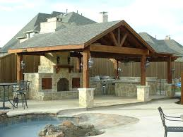 Covered Outdoor Kitchen Designs by Patio Covers Boschco Services Homes Pinterest Patios