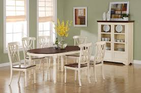 antique white dining room sets