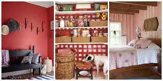 Home Decorates by Decorating With Red Ideas For Rooms And Home Decor 40 Photos