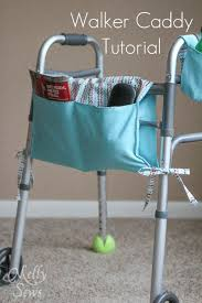 Armchair Sewing Caddy Pattern Walker Caddy Tutorial Patterns Free And Sewing Projects