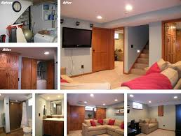Renovation Ideas Small Pictures To by Small Basement Remodeling Ideas Finishing U2014 New Basement And Tile