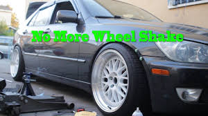 lexus is200 wheels ebay fix is300 wheel shake and removing fender liner update 8 youtube