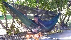 how to make a hammock bugnet youtube