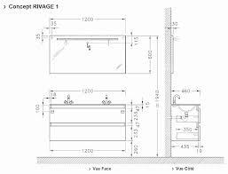 hauteur meubles haut cuisine hauteur meuble haut cuisine best of dimensions salle de bain