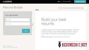 Best Resume Builder Website by Top 6 Resume Builders 2017 U2022