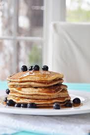 Blueberry Pancake Recipe Vegan Blueberry Pancakes Veganosity