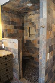 Open Shower Bathroom Ideal Open Shower Bathroom For Home Decoration Ideas With Open