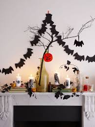 diy halloween decorations how to make a bat garland for halloween