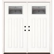 fibre glass door 66 x 82 fiberglass doors front doors the home depot
