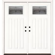 fiber glass door 66 x 82 fiberglass doors front doors the home depot