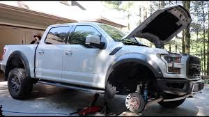 ford raptor lifted 2017 ford raptor first upgrade rpg spring collar leveling kit