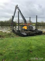 amphibious vehicle for sale used finnboom pontoons m xxxl amphibious excavators year 2017