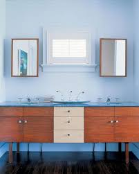 Midcentury Modern Bathroom Mid Century Bathroom Vanity Wood Top Bathroom Distinctive Mid