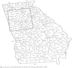 Georgia Counties Map Academic Onefile Document Mining And Modeling For A