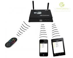 led strip lights wifi controller new led wifi controller led rgb strip controller wf400 android or