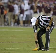 Football Penalty Flags Sec Head Of Officials On Disputed Penalty That Negated Lsu Td U0027by