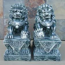 pictures of foo dogs big foo dogs fu dog civilian door gods