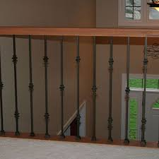 Iron Banister Spindles Double Knuckle 1 2