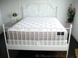 White Metal Kingsize Bed Frame White Metal Bed Frame White Metal Bed Frame Canada White
