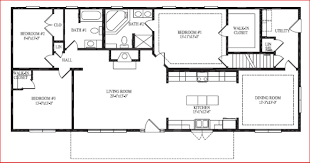 open floor plan ranch style homes crtable