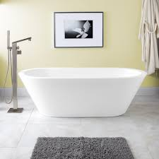 freestanding modern bathtub signature hardware