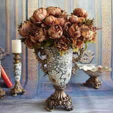 european style silk flowers decoration party floral wedding