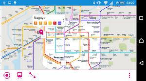 Osaka Train Map Nagoya Rail Map Android Apps On Google Play