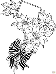 poinsettia coloring pages free coloring pages coloring