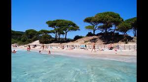 palombaggia beach corsica porto vecchio beaches youtube