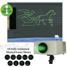 halloween light display projector mr christmas laser light and sound animated light show projector