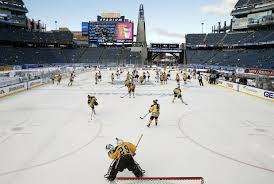 winter classic has grown into an outdoor hockey festival the san