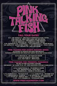 pink talking fish announces fall tour including 2 special concept runs