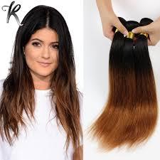 cheap extensions 4pcs dip dye ombre hair extensions cheap hair