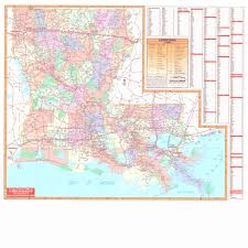 louisiana map cities louisiana wall maps national geographic maps map quest rand