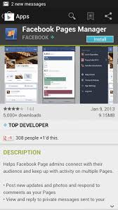 fb app android finally s pages manager app officially arrives on android