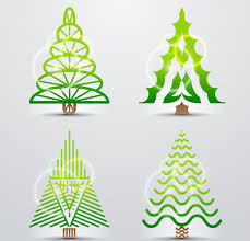 different christmas tree design vector free vector in encapsulated