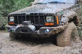mud jeep cherokee metalpasja innowacyjne doposażenia offroad zderzak przedni