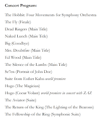 the music of the lord of the rings films doug adams u0027 blog