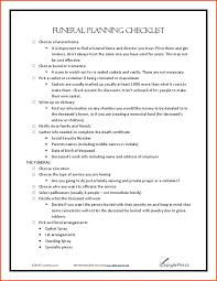 funeral planning checklist 6 funeral planning checklistmemo templates word memo templates word